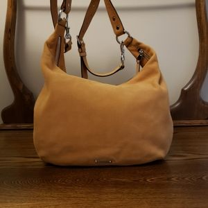 Rebecca Minkoff Michelle Leather Hobo Honey